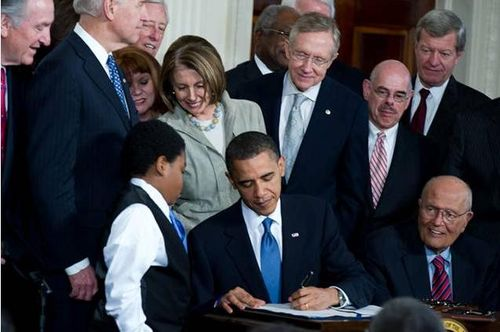 Afforable Care Act Signing