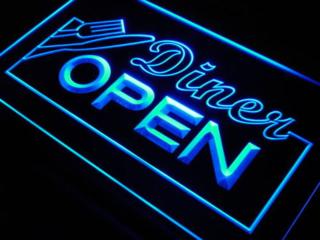 Diner open